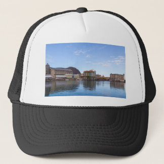 port louis le caudan waterfront capital of Mauriti Trucker Hat