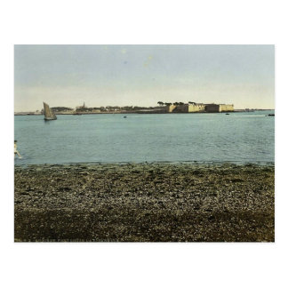 Port Louis, the Citadel, Lorient, France classic P Postcard