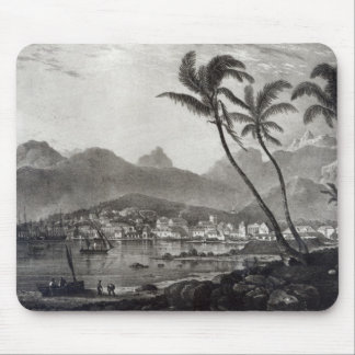 Port Louis 'Views in the Mauritius' by Mouse Pad