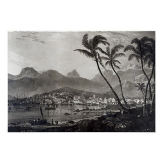 Port Louis 'Views in the Mauritius' by Poster