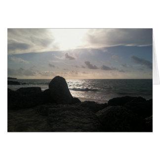 Port Lucaya, Freeport, Bahamas Sunrise Card