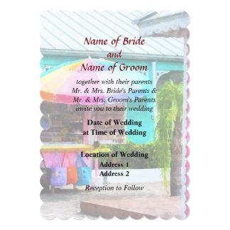 Port Lucaya Marketplace Bahamas Wedding Products Custom Invitation