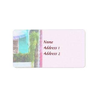 Port Lucaya Marketplace Bahamas Wedding Products Label