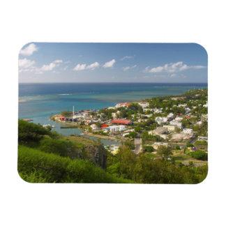Port Mathurin, Rodrigues Island, Mauritius Rectangular Photo Magnet