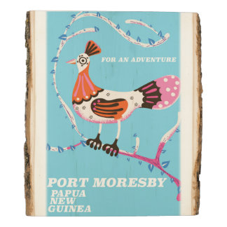 Port Moresby, Papua New Guinea Wood Panel