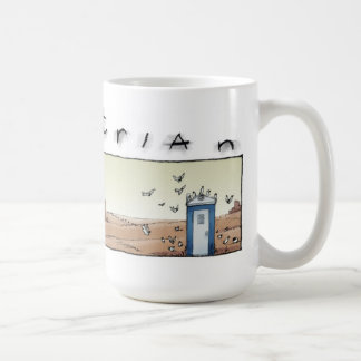 Port-o-john dusk coffee mug