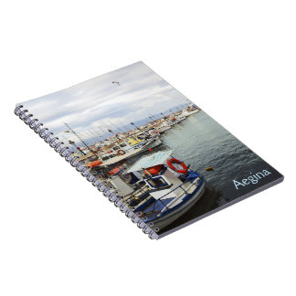 Port of Aegina Notebook
