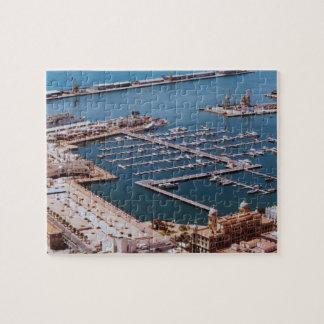 Port of Alicante Jigsaw Puzzle