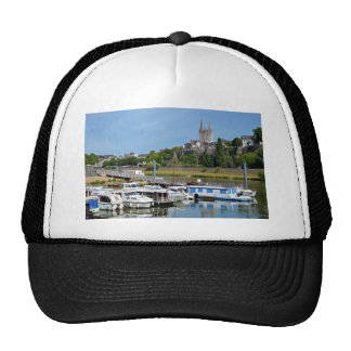 Port of Angers in France Trucker Hat