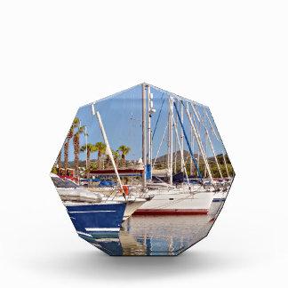 Port of Argelès-sur-Mer in France Acrylic Award