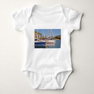 Port of Argelès-sur-Mer in France Baby Bodysuit