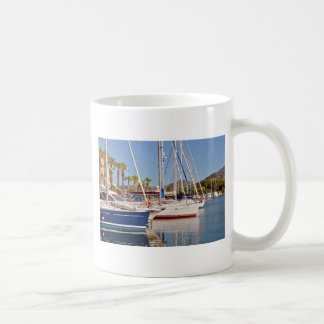 Port of Argelès-sur-Mer in France Classic White Coffee Mug