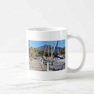 Port of Argelès-sur-Mer in France Coffee Mug