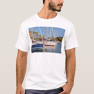 Port of Argelès-sur-Mer in France T-Shirt