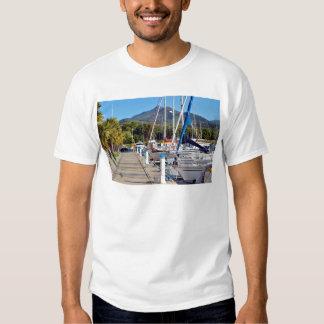Port of Argelès-sur-Mer in France Tee Shirt
