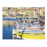 Port of Cassis, France Post Card
