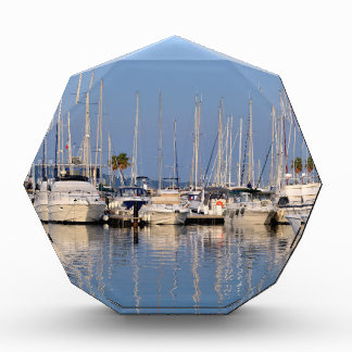 Port of Cavalaire-sur-Mer in France Acrylic Award