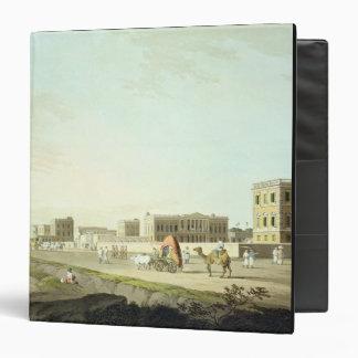 Port of Cheringhee, Calcutta, plate 32 from 'Orien Binder