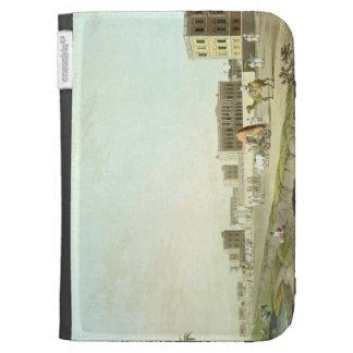 Port of Cheringhee, Calcutta, plate 32 from 'Orien Kindle Cases