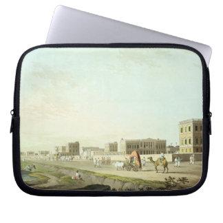 Port of Cheringhee, Calcutta, plate 32 from 'Orien Computer Sleeve