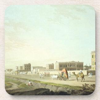 Port of Cheringhee, Calcutta, plate 32 from 'Orien Drink Coasters