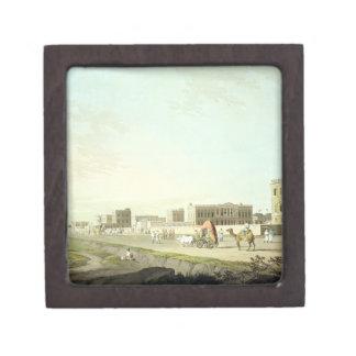 Port of Cheringhee, Calcutta, plate 32 from 'Orien Gift Box