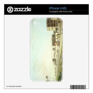 Port of Cheringhee, Calcutta, plate 32 from 'Orien iPhone 4 Decals