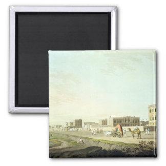 Port of Cheringhee, Calcutta, plate 32 from 'Orien Magnet