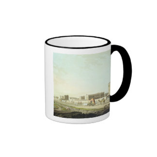 Port of Cheringhee, Calcutta, plate 32 from 'Orien Coffee Mug