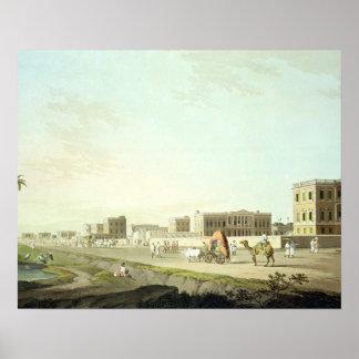 Port of Cheringhee, Calcutta, plate 32 from 'Orien Print