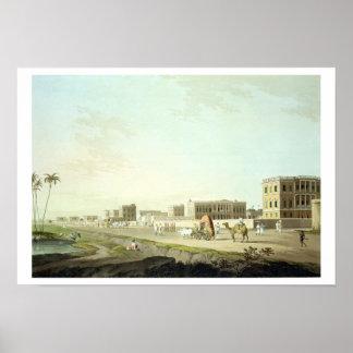 Port of Cheringhee, Calcutta, plate 32 from 'Orien Poster