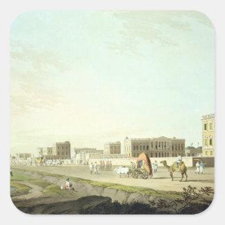 Port of Cheringhee, Calcutta, plate 32 from 'Orien Stickers