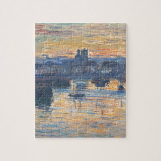 Port of Dieppe, Evening by Claude Monet Jigsaw Puzzles