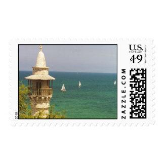 Port of Jaffa, Israel Postage