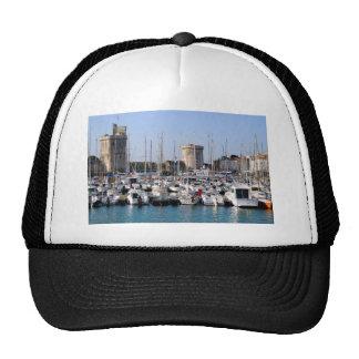 Port of La Rochelle in France Trucker Hat
