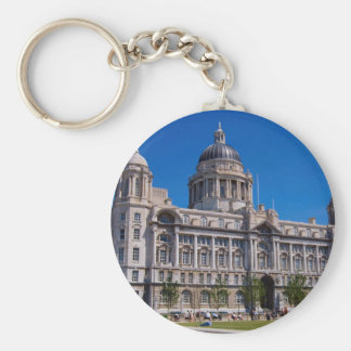 Port of Liverpool Building, Liverpool, Mersey, Eng Key Chain