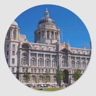 Port of Liverpool Building, Liverpool, Mersey, Eng Sticker