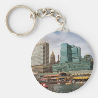 Port of Maryland Keychain