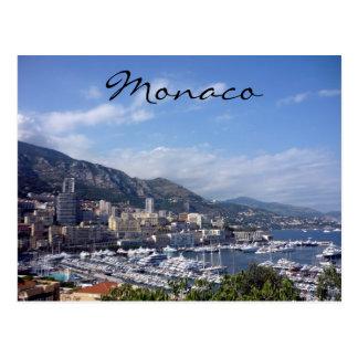 port of monaco postcard