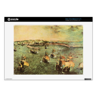 Port of Naples by Pieter Bruegel Decal For Acer Chromebook