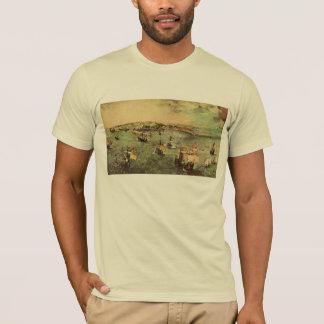 Port of Naples by Pieter Bruegel T-Shirt
