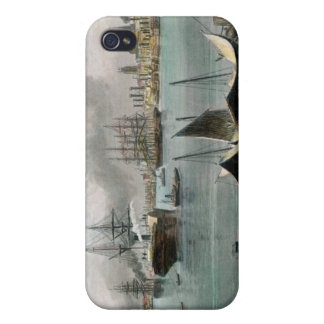 Port of New Orleans, engraved by D.G. Thompson Cover For iPhone 4