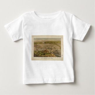 Port of New York by Currier & Ives in 1878 Tshirts