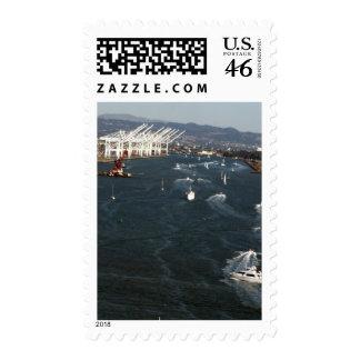 Port of Oakland Postage Stamp