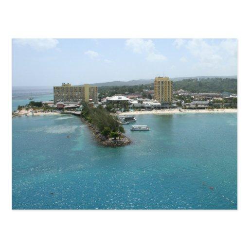 Port of Ocho Rios, Jamaica Postcard