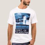 Port Of Philadelphia 1936 WPA T-Shirt