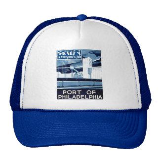 Port of Philadelphia Pennsylvania Trucker Hat