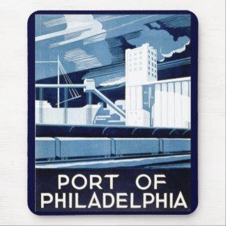 Port of Philadelphia Pennsylvania Mousepad