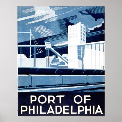Port of Philadelphia Pennsylvania Print