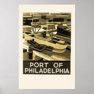 Port of Philadelphia Poster